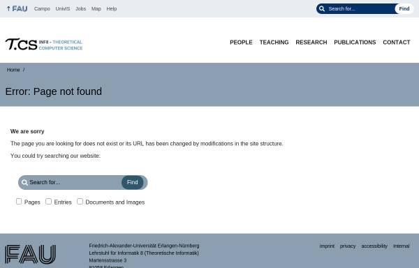Vorschau von www8.informatik.uni-erlangen.de, Europäische Geschichte von 1801-1900