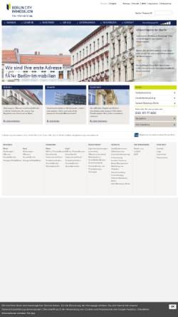 Vorschau der mobilen Webseite www.berlin-city-immobilien.de, Berlin City Immobilien