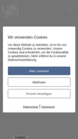 Vorschau der mobilen Webseite www.berliner-immoservice.de, Berliner ImmobilienService GmbH