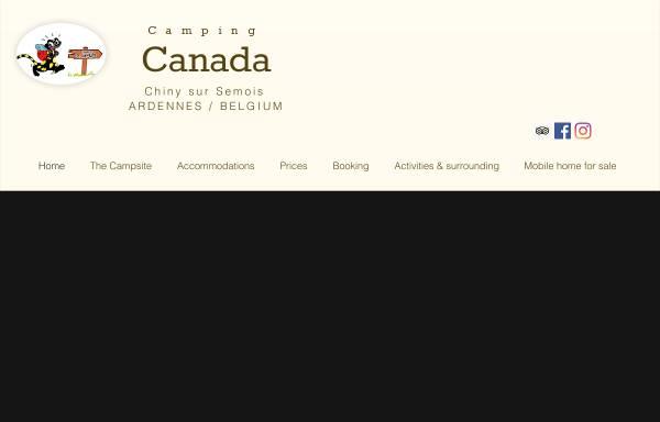 Vorschau von www.campinglecanada.be, Camping Le Canada