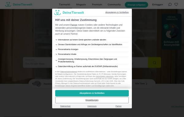 Vorschau von www.haustier-anzeiger.de, Haustier-Anzeiger