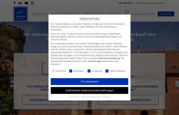Vorschau von www.bhi-immobilien.de, BHI Immobilien