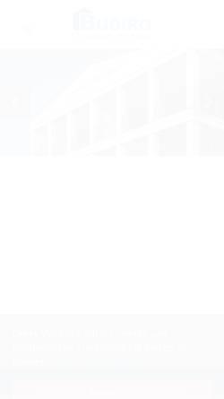 Vorschau der mobilen Webseite www.budiro.de, Budiro Immobilien und Finanzierungsberatung GmbH
