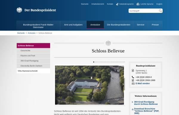 Vorschau von www.bundespraesident.de, Bellevue-Berlin, Kunsthistorische Führungen