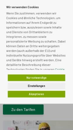 Vorschau der mobilen Webseite www.cseiberl.de, Berliner Wandertage