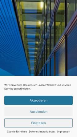 Vorschau der mobilen Webseite www.city2000.de, city2000 Immobilien GmbH & Co. KG