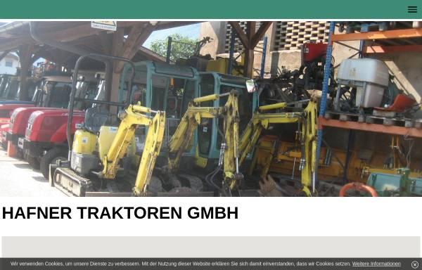 Vorschau von www.hafnertraktoren.com, Hafner Traktoren GmbH