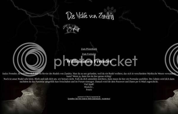 Vorschau von baseportal.de, Die Wölfe von Zandria