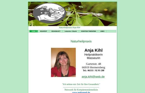 Vorschau von www.naturheilpraxis-kihl.de, Kihl, Anja