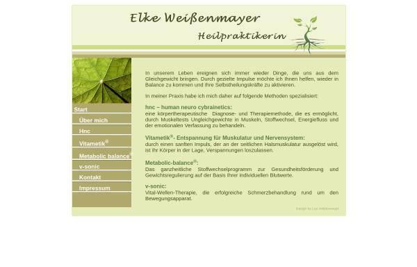 Vorschau von www.hp-weissenmayer.de, Weißenmayer, Elke