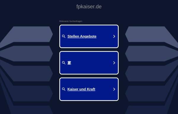 Vorschau von www.fpkaiser.de, Fachpersonal Kaiser GmbH