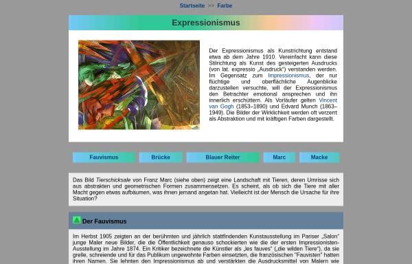 Vorschau von www.seilnacht.com, Expressionismus - Geschichte und Merkmale