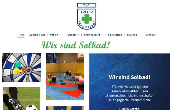 Vorschau von www.tussolbad.de, TuS Ravensberg e.V.