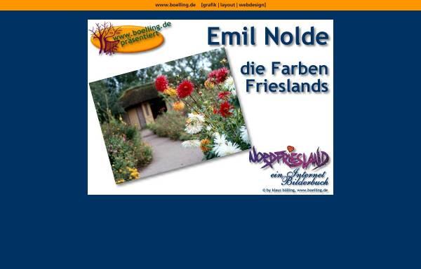 Vorschau von www.boelling.de, Nolde, Emil