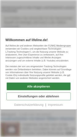 Vorschau der mobilen Webseite www.qualimedic.de, Diphtherie