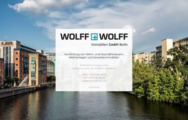 Vorschau von www.wolff-immobilien-berlin.de, Wolff + Wolff Immobilien GmbH