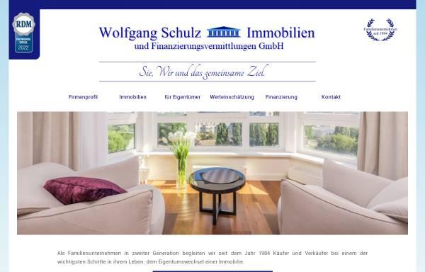 Vorschau von www.wolfgang-schulz-immobilien.de, Wolfgang Schulz Immobilien GmbH