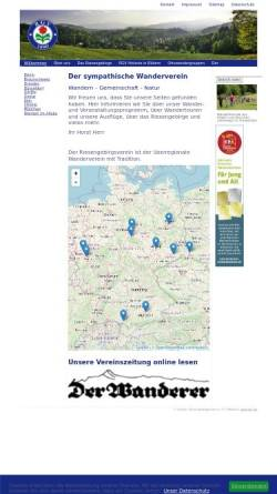 Vorschau der mobilen Webseite riesengebirgsverein.de, Riesengebirgsverein