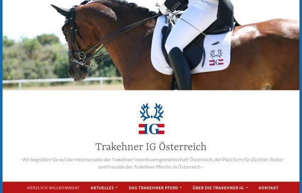 Vorschau von www.trakehner-ig.at, Trakehner-IG