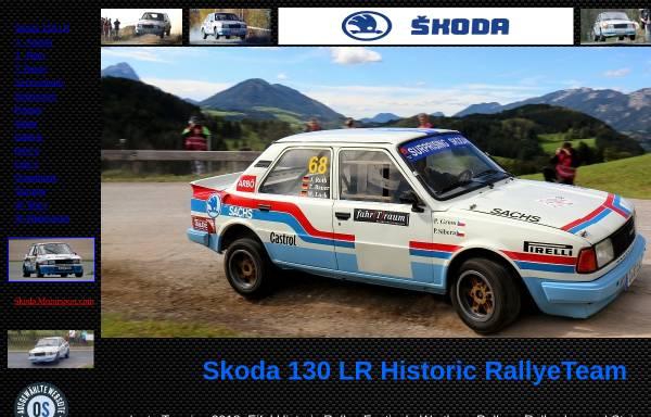 Vorschau von www.s130lr.de, Skoda Rallyeteam Kayser / Roth