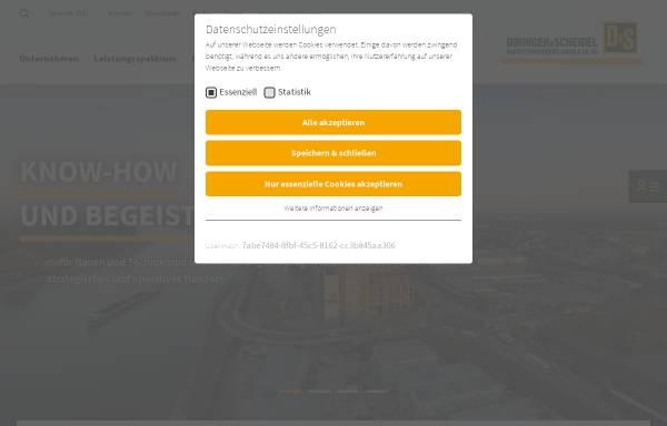 Vorschau von www.dus-bau.de, Diringer und Scheidel Rohrsanierung GmbH & Co.KG
