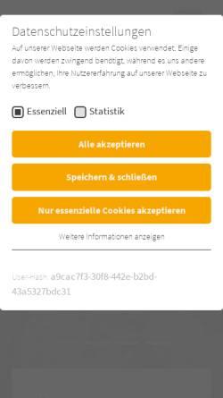 Vorschau der mobilen Webseite www.dus-bau.de, Diringer und Scheidel Rohrsanierung GmbH & Co.KG