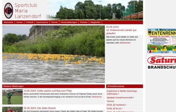 Vorschau von www.scml.at, Sportclub Maria Lanzendorf