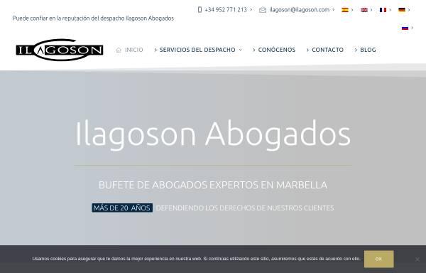 Vorschau von www.ilagoson.com, Ilagoson Anwaltskanzlei