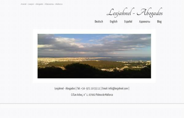 Vorschau von www.lexjahnel.com, Jahnel Matthias LL.M.