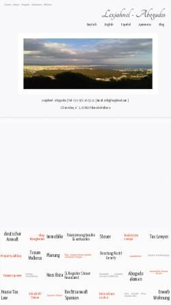Vorschau der mobilen Webseite www.lexjahnel.com, Jahnel Matthias LL.M.