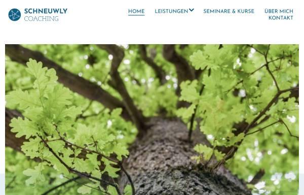Vorschau von www.schneuwly.info, Beratung & Coaching Hubert Schneuwly-Studer
