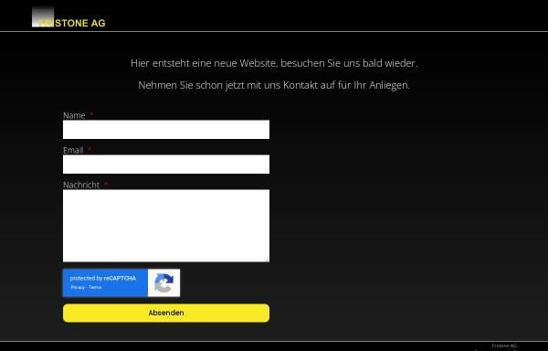 Vorschau von www.fristone.ch, Fristone AG