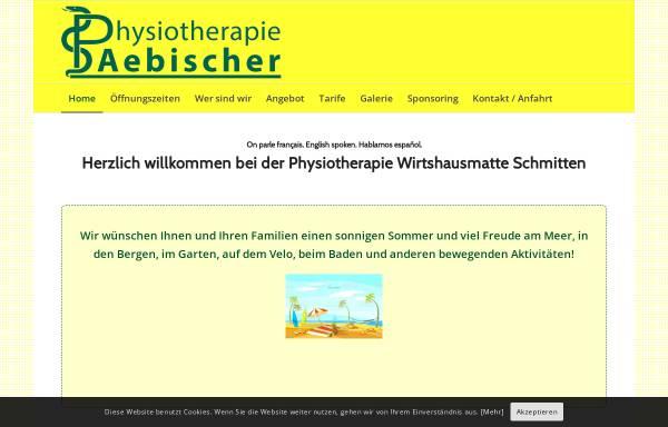 Vorschau von www.physioaebischer.ch, Physiotherapie Wirtshausmatte