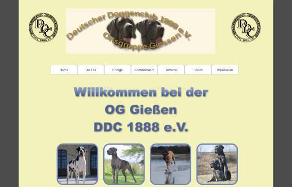 Vorschau von ddc-oggiessen.de, Ortsgruppe Gießen des DDC