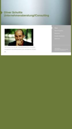 Vorschau der mobilen Webseite www.sense.de, Sense Consulting - Oliver Schmidt & Oliver Schultis GbR
