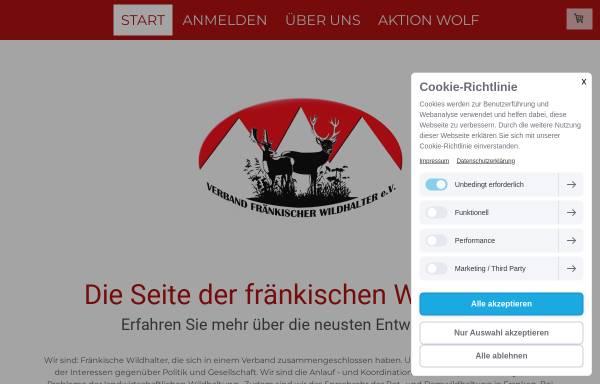 Vorschau von www.wildhalterverband.de, Verband Oberfränkischer Wildhalter e.V.