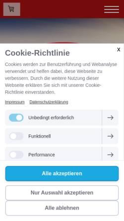 Vorschau der mobilen Webseite www.wildhalterverband.de, Verband Oberfränkischer Wildhalter e.V.