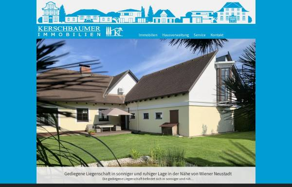 Vorschau von www.kerschbaumer.cc, Kerschbaumer Immobilien