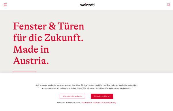 Vorschau von www.weinzetl.at, Weinzetl Fenster