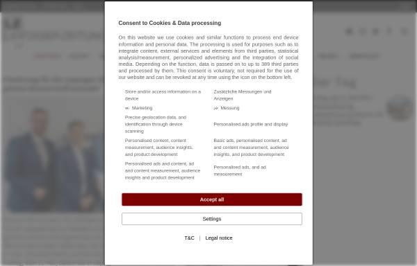 Vorschau von www.l-iz.de, L-IZ Mitteldeutsche Online Medien