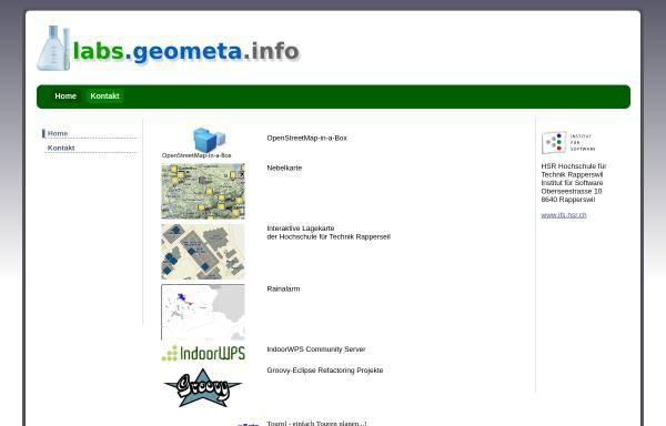 Vorschau von www.geometa.info, Geometa.info