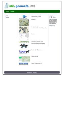 Vorschau der mobilen Webseite www.geometa.info, Geometa.info