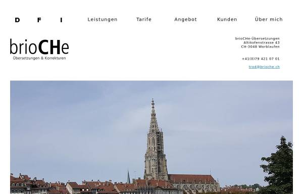 Vorschau von www.brioche.ch, BrioCHe