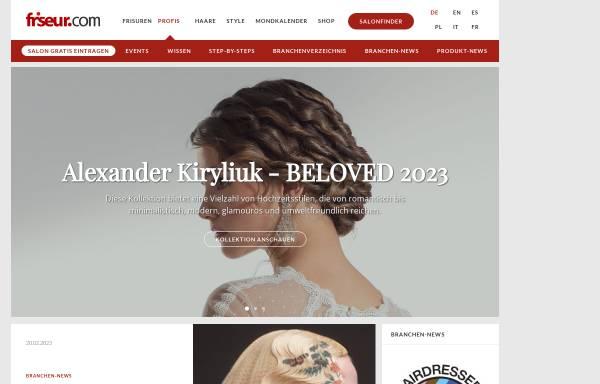 Vorschau von www.friseur.com, Friseur.com - Armin Burkart