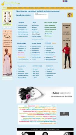 Vorschau der mobilen Webseite www.hairweb.de, Hairweb