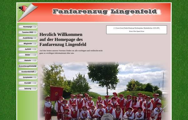 Vorschau von www.fanfarenzug-lingenfeld.de, Fanfarenzug 1975 Lingenfeld e.V.