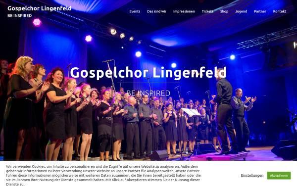 Vorschau von www.gospelchor-lingenfeld.de, Gospelchor Lingenfeld
