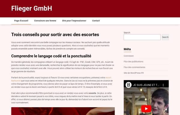 Vorschau von www.flieger-gmbh.de, Flieger GmbH
