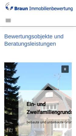 Vorschau der mobilen Webseite www.klausabraun.de, Braun, Klaus A.
