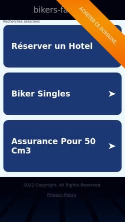 Vorschau der mobilen Webseite www.bikers-farm.de, Biker's - Farm